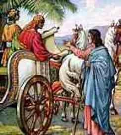 Conversion of the Ethiopian eunoch