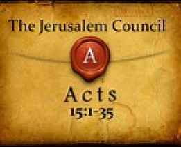 The Jerusalem Council referred to in Acts
