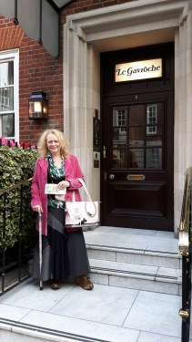 Mrs A at Le Gavroche - Oct 2016