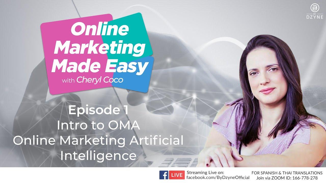 Online Marketing Made Easy Ep1 – Intro to OMA (Online Marketing AI)