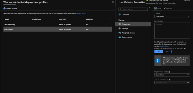 Using Autopilot Profiles offline in Windows 10 1809 – Richard Balsley