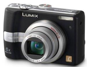 The capable but decidedly dated Panasonic Lumix DMC-LZ7K 7.2MP Digital Camera; to some a relic, but for Robert, all he needs to create artistic greatness.