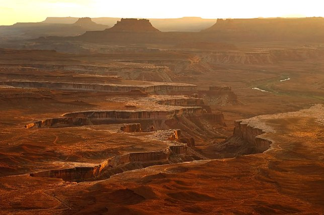 Though often photographed, the Green River Overlook at Canyonlands never ceases to amaze me. I made this image in October 2008.