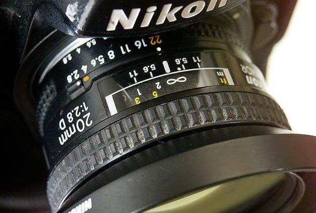 The AF Nikkor 20mm f/2.8 is instantly at home on my Nikon D2H.