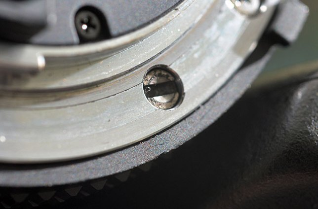 "This is the slot in an AF Nikkor lens that accepts the so-called focus ""screwdriver"" of a camera with its own focus motor."