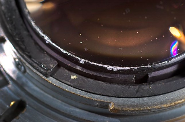 """This is the mount of my 20-year-old AF Nikkor 85mm. If you are worried about buying used equipment that is in """"mint"""" condition, if you clean your gear obsessively, if you concern yourself with removing every speck of dust from a lens, or if you think that wear marks on cameras """"lower their value,"""" perhaps photography isn't for you."""