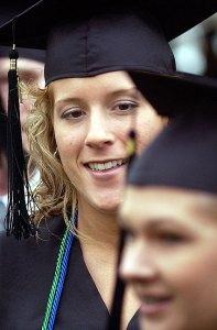 East Central University graduation, 2003
