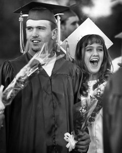 Stonewall High School graduation, 1995
