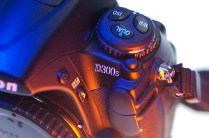 Fit and finish on the D300s are very good, and all the buttons and controls are well-made.