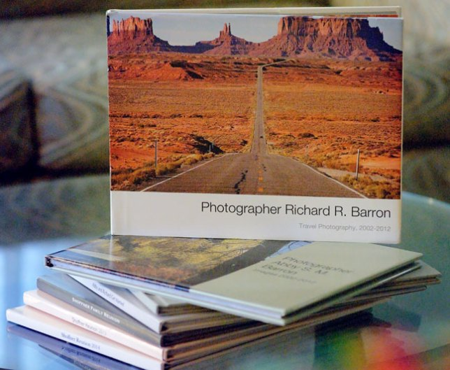 My wife Abby and I have books of our images made for various purposes, from travel images to individual weddings, and the look and feel of a real, printed book is much more powerful than any web gallery can ever be.