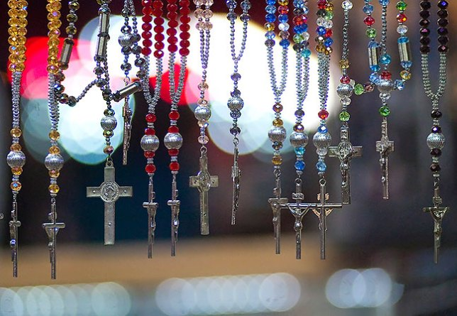 "I made this image of necklaces for sale at the Pontotoc County Free Fair a couple of years ago with my AF Nikkor 180mm f/2.8 at f/2.8. I consider this image to exhibit ""good"" bokeh."