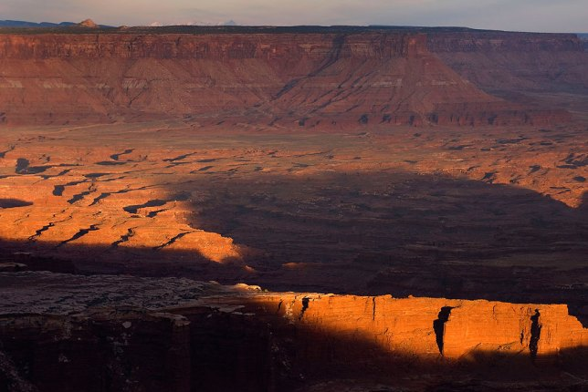 To my eye, Canyonlands is even more breathtaking than The Grand Canyon. I made this image from there Grand View Point at the Island in the Sky District of Canyonlands in April 2011.