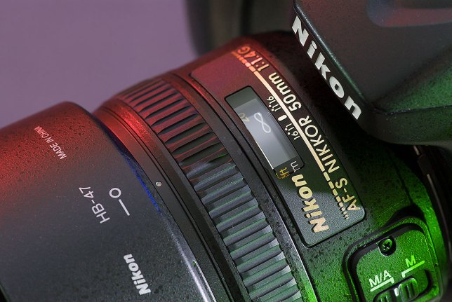 Our new AF-S Nikkor 50mm F/1.4G is pictured mounted on my Nikon D7100.