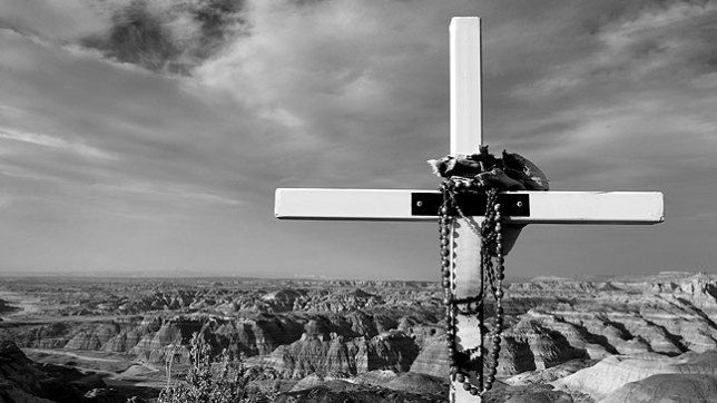 The S200EXR has a 16:9 mode, and a fairly decent black-and-white rendering engine. This image is at Angel Peak in New Mexico in April 2011.