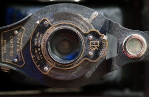 Once upon a time, this 100-year-old Kodak camera was someone's brand new prize.