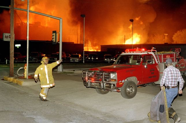 If you lived in Ada in the spring of 2000, you remember when the mill burned in the middle of the night in downtown Ada, and how it smelled for a month afterwards.