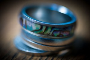 Macro lenses do macro best, as in this image made of a couple of my rings. Note the super-shallow depth of field. As I write this, I am also starting to write about focus stacking for macro images, so stay tuned.