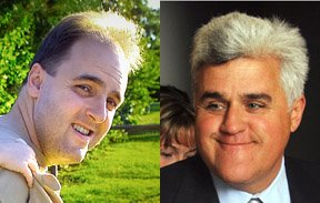 David Martin reminds me of talk show host Jay Leno