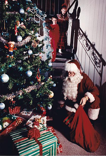 Christmas Eve Illustration, December 1988
