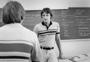 Gil Hernandez at Eisenhower High School, Lawton, Oklahoma, 1980