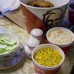 Since I don't eat meat, I enjoyed some of KFC's side dishes.