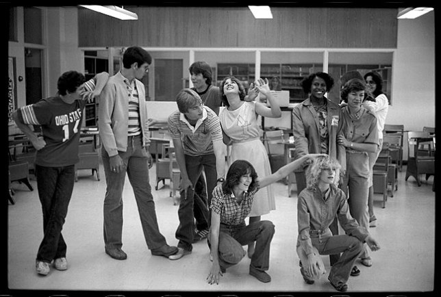 Principals of Writing class at my high school was taught by a great teacher named Ruth Dishman. This photo shows an exercise in creative thinking given the class by a clinician from the Poet in the Schools (PITS) program in the fall of 1980.