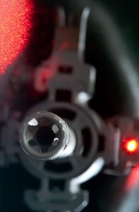 Our 29th-century shotguns constantly emitted flashing, rotating colors to show us their frequency agility.