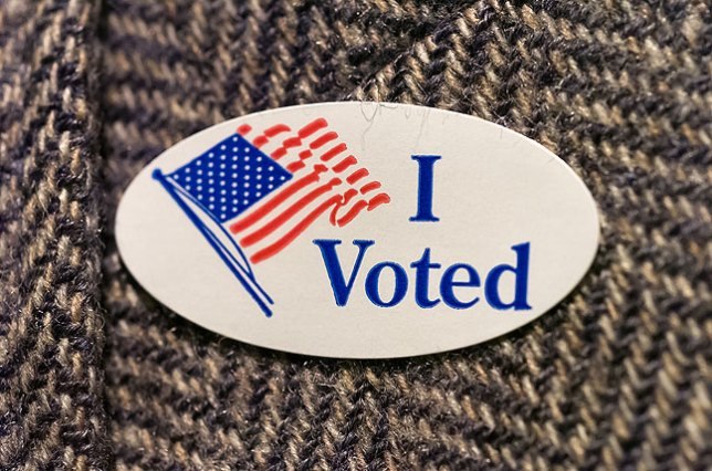 Be proud to say that you voted.
