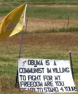 I photographed this sign in my home town, Byng, Oklahoma, a couple of years ago. The last time I passed this spot, it was gone.