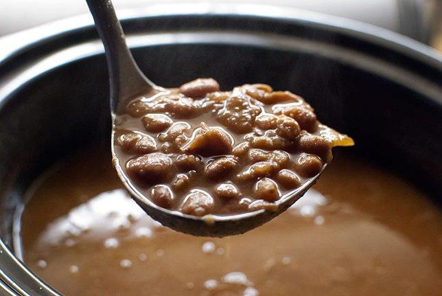 I feel so happy when I make pinto beans.