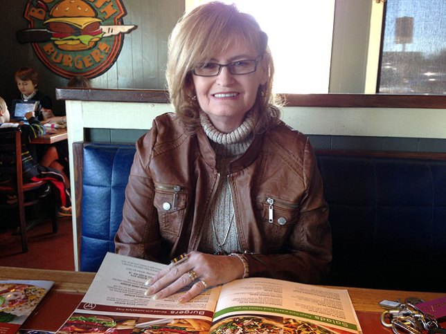 Abby and I had lunch at Chili's today.