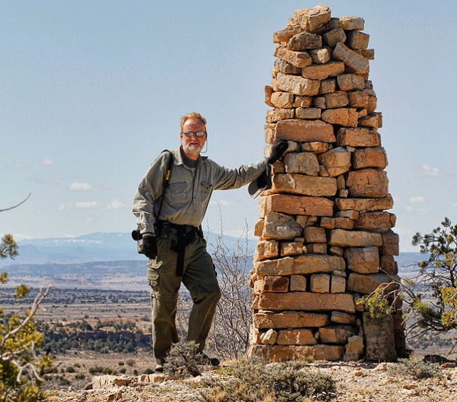 This is an image of me hiking in New Mexico last month. If this is what it takes to keep me young, here I go.