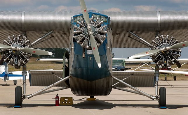 Despite its legend, there is nothing even remotely elegant about the Ford Tri-Motor.