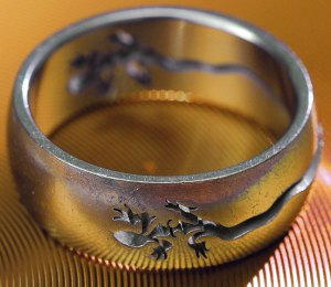 """I sometimes refer to my red-tailed lizard ring, which I bought in Moab, Utah, on our fifth anniversary in 2009, as my """"fifth anniversaring."""""""