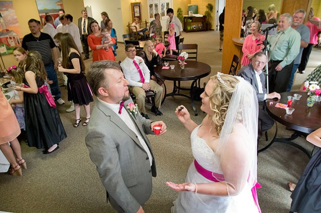 Did you hear about the two antennas who got married? The ceremony wasn't all that good, but the reception was fantastic!