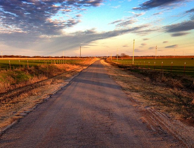 "It's hard to imagine a place more ""country"" than Ryan, Oklahoma."