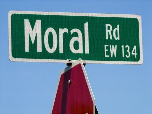 Throughout history, human morality has been rife with immorality.