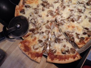 This is our great big deli pizza for Super Bowl Sunday.