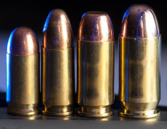 Here are four handgun calibers: .380 ACP, 9mm Parabellum, .40 S&W, and .45 ACP. All are capable and effective, but some are more fun to shoot than others.