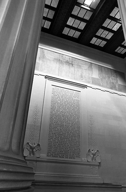 The Lincoln Memorial, Washington, D. C.