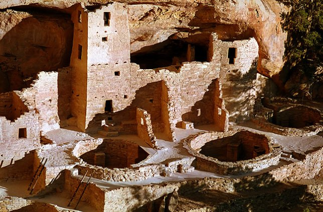 Cliff Palace, afternoon, Mesa Verde