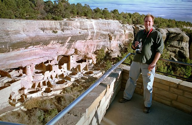 David at Mesa Verde