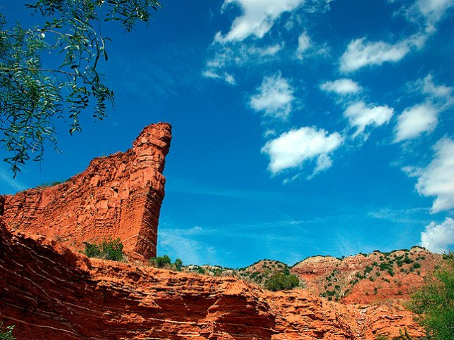 South Prong trail, Caprock Canyons State Park, Texas