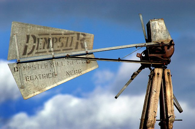 I came across this broken windmill in far northeastern New Mexico.