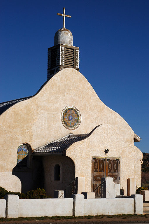 Abby and I photographed this Church in San Ysidro, New Mexico in July 2003.