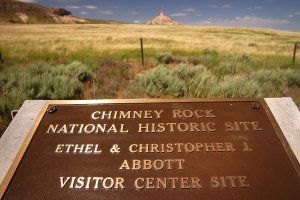 Chimney Rock National Historic Site, Morrill County, western Nebraska