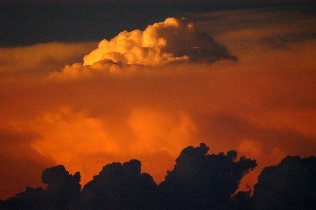 Thunderstorm at Sunset, Near Mount Rushmore