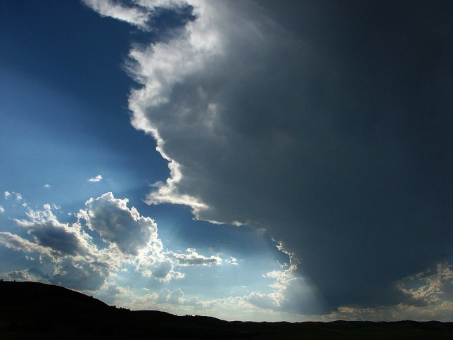 Developing Thunderstorm, Custer State Park