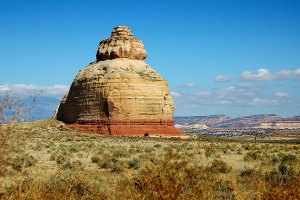 Abby shot this handsome image of Church Rock on U.S. 191 on the drive to Moab, Utah.
