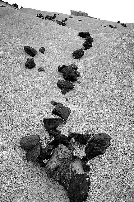 Stones in wash, western Big Bend National Park.